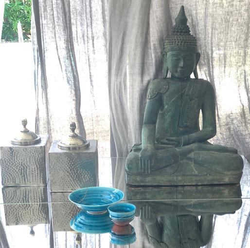 Bellezza Oriente Occidente Statua E Kintsugi