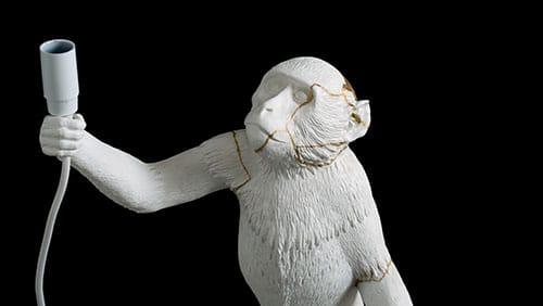 Scimmia Kintsugi