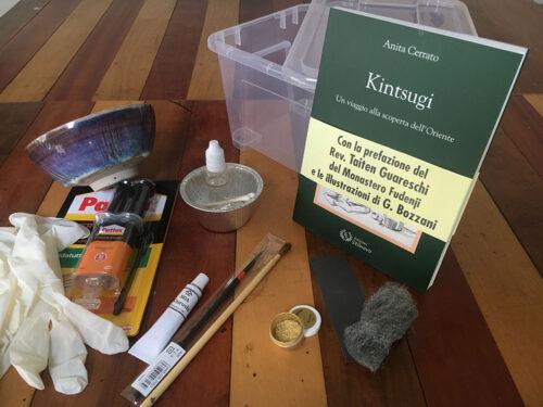 Workshop Urushi Kintsugi - Kintsu Handmade